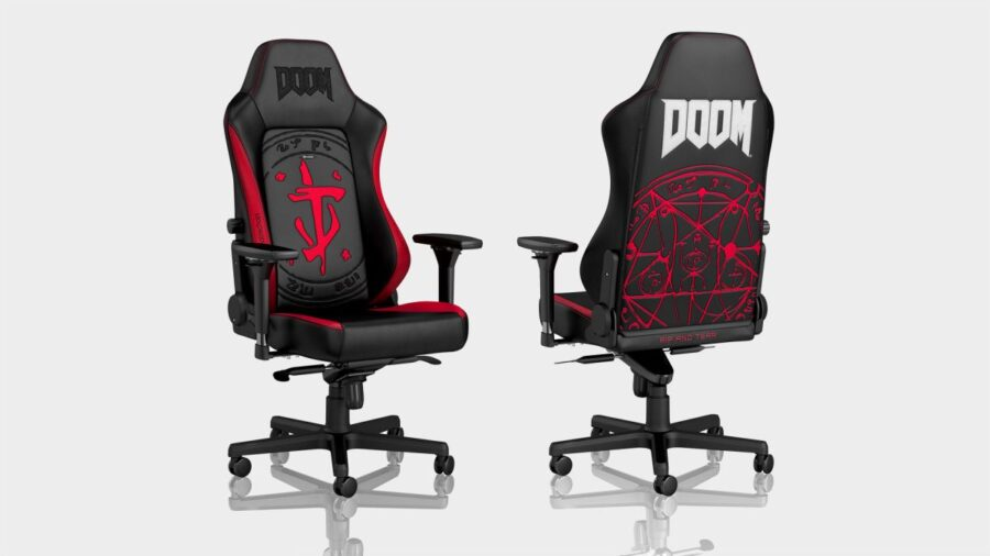 Noblechairs Hero Gaming Chair Doom Edition