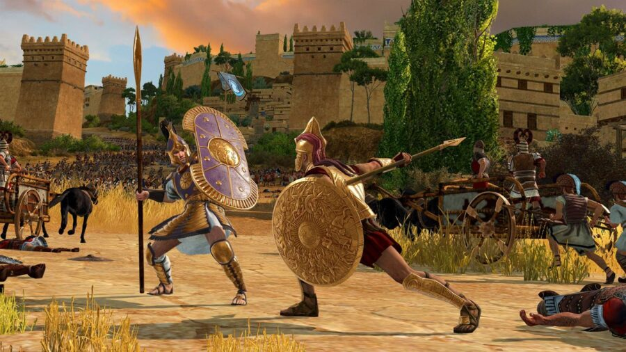 7.5 million of us snapped up the newly released A Total War Saga: Troy for free this week