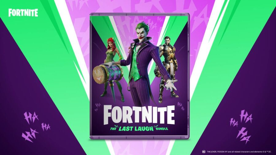 Fortnite partners fo DC and Warner Bros. for The Last Laugh Bundle