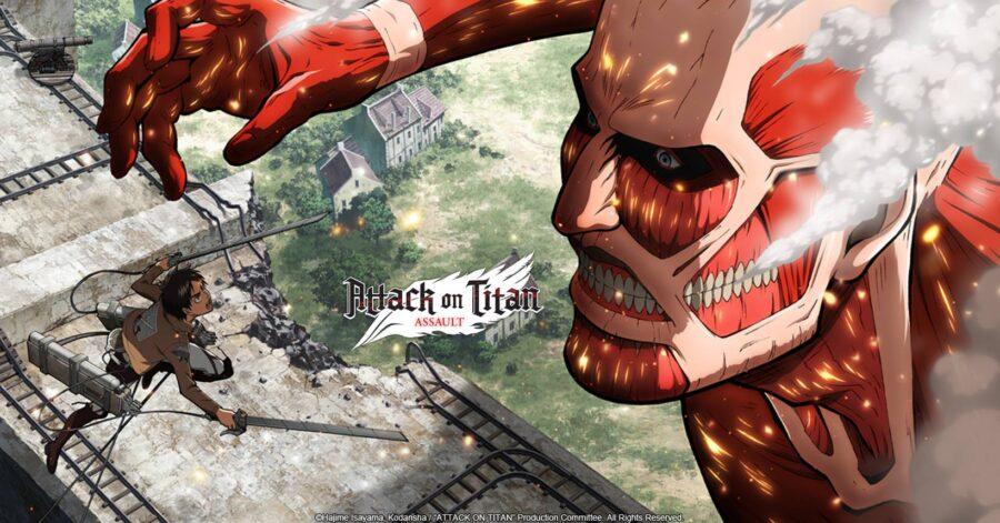 Attack on Titan BattleField para android - MUNDO DROID