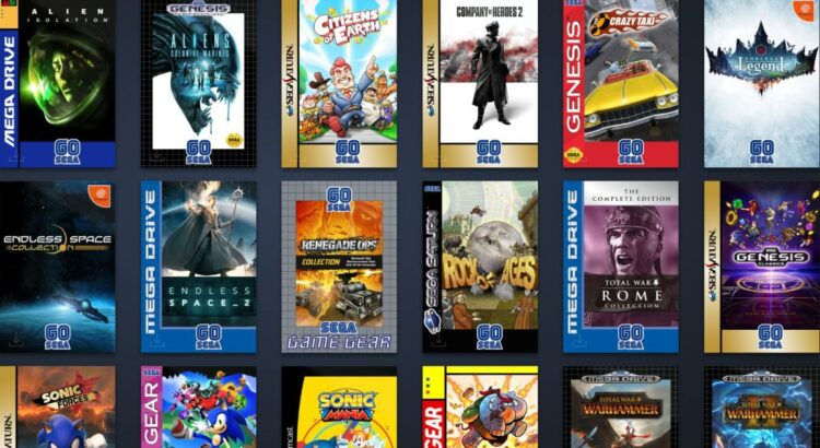 Sega is having a 60th birthday Steam sale, and changing the cover art of games